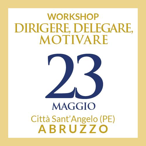 workshop 23 maggio